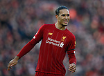 Virgil van Dijk of Liverpool during the Premier League match at Anfield, Liverpool. Picture date: 30th November 2019. Picture credit should read: Simon Bellis/Sportimage