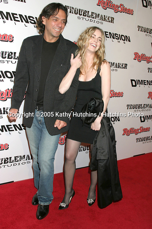"""Melissa George and Husband.""""Sin City"""" Premiere.Mann's National Theater.Westwood, CA.March 28, 2005.©2005 Kathy Hutchins / Hutchins Photo..."""