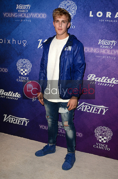 Jake Paul<br /> at the Variety Power of Young Hollywood Event, Neuehouse, Hollywood, CA 08-16-16<br /> David Edwards/DailyCeleb.com 818-249-4998
