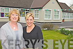 NEW ROLE: Former Ballyfinnane school principal, Eileen Daly (left) passes the baton to new principal, Claire Foley at the school on Friday last.