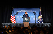 United States President Donald J. Trump delivers remarks at the 2019 National Historically Black Colleges and Universities Week Conference at the Renaissance Hotel in Washington, DC on Tuesday, September 10, 2019. <br /> Credit: Kevin Dietsch / Pool via CNP