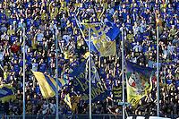 tifosi durante l'incontro di calcio di Serie A   Frosinone - Roma   allo  Stadio Matusa di   di Frosinone ,12  Settembre 2015