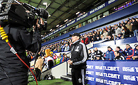 Manager Tony Pulis of West Bromwich Albion before the Barclays Premier League match between West Bromwich Albion and Swansea City at The Hawthorns on the 2nd of February 2016