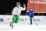 Uppsala 2014-12-26 Bandy Elitserien IK Sirius - Hammarby IF :  <br /> Hammarbys Robin Sundin jublar efter sitt 10-2 m&aring;l under matchen mellan IK Sirius och Hammarby IF <br /> (Foto: Kenta J&ouml;nsson) Nyckelord:  Bandy Elitserien Uppsala Studenternas IP IK Sirius IKS Hammarby HIF Bajen Annandag Jul Annandagen jubel gl&auml;dje lycka glad happy
