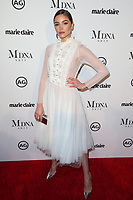 WEST HOLLYWOOD, CA - JANUARY 11: Olivia Culpo at Marie Claire's Third Annual Image Makers Awards at Delilah LA in West Hollywood, California on January 11, 2018. Credit: Faye Sadou/MediaPunch