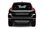Straight rear view of 2017 Volvo XC60 Inscription 5 Door SUV Rear View  stock images