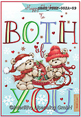 John, CHRISTMAS ANIMALS, WEIHNACHTEN TIERE, NAVIDAD ANIMALES, paintings+++++,GBHSFBHX-002A-09,#xa#
