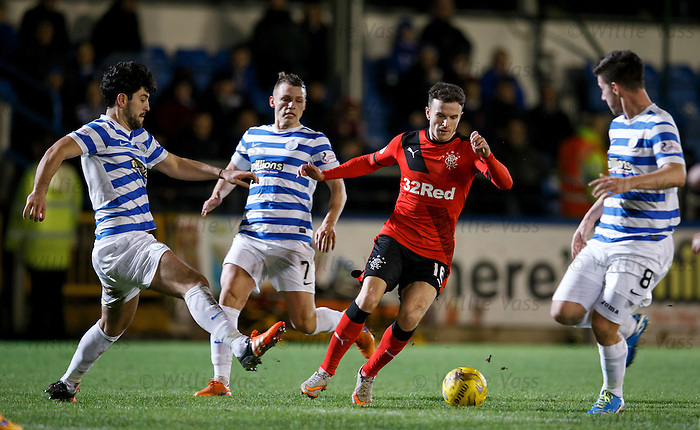 Andy Halliday in action