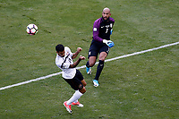 Commerce City, CO - Thursday June 08, 2017: Tim Howard during their 2018 FIFA World Cup Qualifying Final Round match versus Trinidad & Tobago at Dick's Sporting Goods Park.