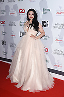 Diana Wang<br /> arriving for the Float Like a Butterfly Ball 2019 at the Grosvenor House Hotel, London.<br /> <br /> ©Ash Knotek  D3536 17/11/2019