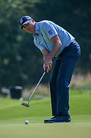 Matt Kuchar (USA) watches his putt on 1 during round 3 of the WGC FedEx St. Jude Invitational, TPC Southwind, Memphis, Tennessee, USA. 7/27/2019.<br /> Picture Ken Murray / Golffile.ie<br /> <br /> All photo usage must carry mandatory copyright credit (© Golffile | Ken Murray)