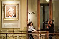 BUENOS AIRES, ARGENTINA, 30.10.2015 - ARGENTINA-KIRCHNER - A presidente da Argentina, Cristina Fernandez de Kirchner faz sua primeira aparição pública ontem, 29, em Buenos Aires, após a eleição presidencial realizada no domingo, 25. (Foto: Patricio Murphy/Brazil Photo Press)