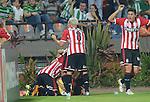 Atlético Nacional y Estudiantes de La Plata empataron 1-1 en el Atanasio Girardot por la tercera fecha del grupo 7 de la Copa Libertadores.