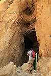 Judean desert, Murabaat Cave at Nahal Darga where the Bar Kochba scrolls were found