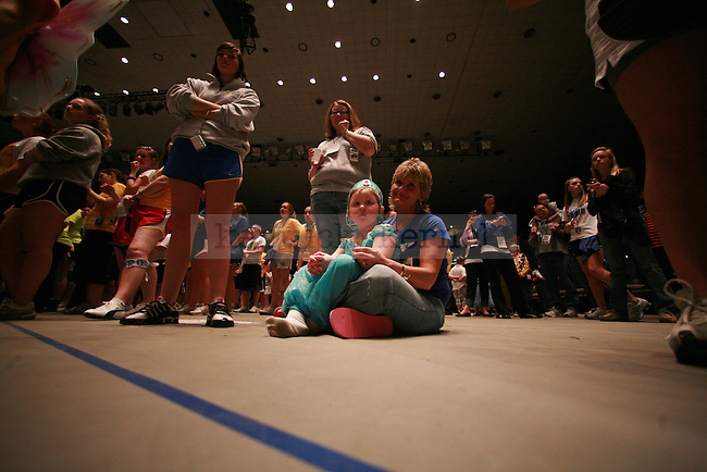 The fifth annual DanceBlue took place on March 5 - 6, 2010 at Memorial Coliseum. This year DanceBlue raised $636,638.58 for the University of Kentucky's Pediatric Oncology Clinic.