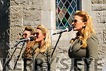 Listowel Military Tattoo: The Bomb Shell Belles performing in the Square on Sunday last.