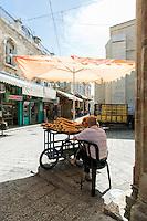 Israel, Jerusalem, Old Town, Holy land, Street seller