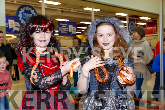 At the Manor West: Halloween Family Fun Day on Satuday were Aoife Courtney and Shauna Courtney