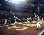 1983FTB Steve Young Touchdown.tif..Football Holiday Bowl. 8 Steve Young. 64 Rex Burningham. Touchdown...Dec 23, 1983..Box Number: 6371..Photo by: Mark Philbrick/BYU..Copyright BYU PHOTO 2008.All Rights Reserved.801-422-7322.photo@byu.edu