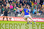 Kieran O'Leary, Kerry in action against John Coghlan, Tipperary in the first round of the Munster Football Championship at Fitzgerald Stadium on Sunday.