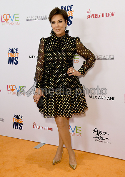 10 May 2019 - Beverly Hills, California - Kris Jenner. 26th Annual Race to Erase MS Gala held at the Beverly Hilton Hotel. Photo Credit: Birdie Thompson/AdMedia