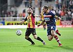 2018-08-27 / Voetbal / Seizoen 2018-2019 / KV Mechelen - Albert Quevy Mons / Onur Kaya (l. KV) met Danny Bastiaens<br /> <br /> ,Foto: Mpics