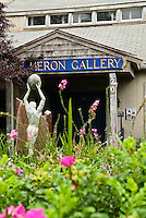The Heron art gallery, Wellfleet, Cape Cod, MA, USA