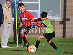 Padraic Connor (Walshestown) and Jamie O'Brien (Drogheda Town Eagles) as Drogheda Town Eagles V Walshestown U11<br /> <br /> <br /> photo - Jenny Matthews