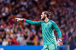 Goalkeeper David de Gea of Spain gestures during the International Friendly 2018 match between Spain and Argentina at Wanda Metropolitano Stadium on 27 March 2018 in Madrid, Spain. Photo by Diego Souto / Power Sport Images