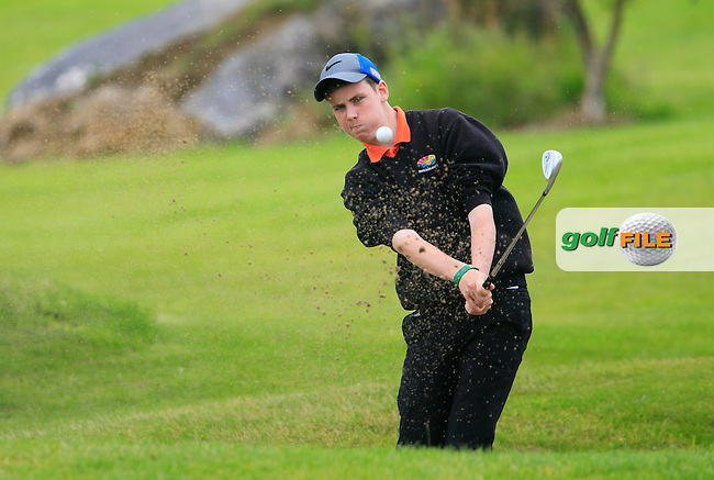 Tony Conlon (Enniscrone) dduring the Golfstyle Boys U17 Kenny Cup Strokeplay final, Gort Golf Club, Gorth, Co Galway.  09/08/2015.<br /> Picture: Golffile | Fran Caffrey<br /> <br /> <br /> All photo usage must carry mandatory copyright credit (&copy; Golffile | Fran Caffrey)