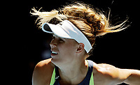 MELBOURNE,AUSTRALIA,25.JAN.18 - TENNIS - WTA World Tour, Grand Slam, Australian Open. Image shows Caroline Wozniacki (DEN). Photo: GEPA pictures/ Matthias Hauer / Copyright : explorer-media