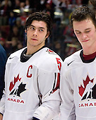 Kristopher Letang (Ste-Julie, QC - Foreurs de Val d'Or) and Jonathan Toews (Winnipeg, MB - University of North Dakota Fighting Sioux) were named Media All-Stars.Team Canada (gold), Team Russia (silver) and Team USA line up for the individual awards and team medal presentations following Team Canada's 4-2 victory over Team Russia to win the gold in the 2007 World Championship on Friday, January 5, 2007 at Ejendals Arena in Leksand, Sweden.