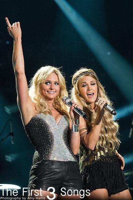 Miranda Lambert and Carrie Underwood