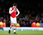 Arsenal's Hector Bellerin looks on dejected during the Premier League match at the Emirates Stadium, London. Picture date: 5th December 2019. Picture credit should read: David Klein/Sportimage