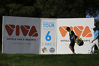 Matthew Jordan (ENG) walking onto the 6th tee during Round 1 of the Challenge Tour Grand Final 2019 at Club de Golf Alcanada, Port d'Alcúdia, Mallorca, Spain on Thursday 7th November 2019.<br /> Picture:  Thos Caffrey / Golffile<br /> <br /> All photo usage must carry mandatory copyright credit (© Golffile | Thos Caffrey)