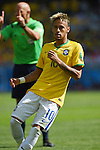 Neymar (BRA), JUNE 28, 2014 - Football / Soccer : FIFA World Cup Brazil 2014 round of 16 match between Brazil and Chile at Estadio Mineirao in Belo Horizonte, Brazil. (Photo by FAR EAST PRESS/AFLO)