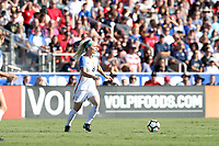 Cary, NC - Sunday October 22, 2017: Julie Ertz during an International friendly match between the Women's National teams of the United States (USA) and South Korea (KOR) at Sahlen's Stadium at WakeMed Soccer Park. The U.S. won the game 6-0.