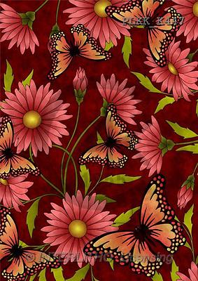 Kris, FLOWERS, paintings(PLKKK447,#F#) Blumen, flores, illustrations, pinturas ,everyday