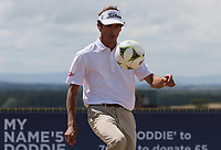 Pedro Oriol (ESP) on the practice ground during the ASI Scottish Open 2018, at Gullane, East Lothian, Scotland.  11/07/2018. Picture: David Lloyd | Golffile.<br /> <br /> Images must display mandatory copyright credit - (Copyright: David Lloyd | Golffile).