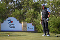 Retief Goosen (RSA) watches his tee shot on 15 during Round 1 of the Valero Texas Open, AT&amp;T Oaks Course, TPC San Antonio, San Antonio, Texas, USA. 4/19/2018.<br /> Picture: Golffile | Ken Murray<br /> <br /> <br /> All photo usage must carry mandatory copyright credit (&copy; Golffile | Ken Murray)
