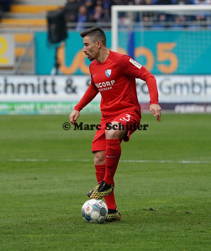 Danilo Soares (VfL Bochum) - 07.03.2020: SV Darmstadt 98 vs. VfL Bochum, Stadion am Boellenfalltor, 2. Bundesliga<br /> <br /> DISCLAIMER: <br /> DFL regulations prohibit any use of photographs as image sequences and/or quasi-video.