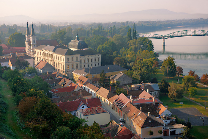 The Baroque Jesuit church and museum, Esztergom, Hungary