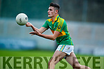 Dr Crokes in action against Graham O'Sullivan South Kerry in the Senior County Football Final in Austin Stack Park on Sunday