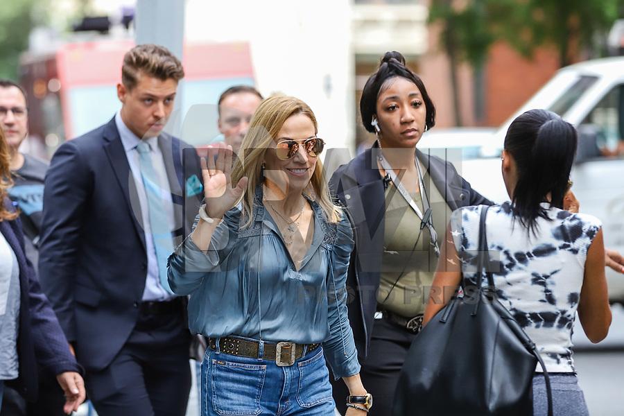 NOVA YORK, EUA, 05.09.2019 - CELEBRIDADE-EUA -  Sheryl Crow é vista no bairro do Soho em Manhattan na cidade de Nova York nesta quinta-feira, 05 (Foto: Vanessa Carvalho/Brazil Photo Press/Folhapress)