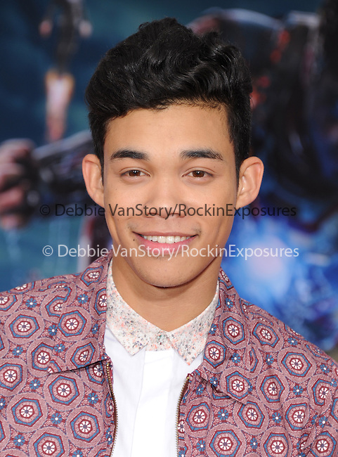 Roshon Fegan at The World Premiere of Marvel's Iron Man 3 held at The El CapitanTheatre in Hollywood, California on April 24,2013                                                                   Copyright 2013 Hollywood Press Agency