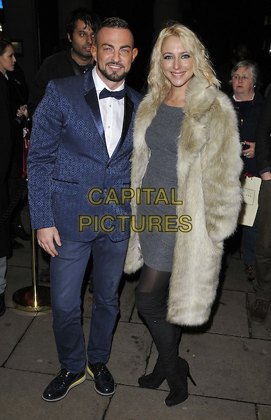 LONDON, ENGLAND - NOVEMBER 03: Robin Windsor &amp; Ali Bastian attend the &quot;Dance 'Til Dawn&quot; press night performance, Aldwych Theatre, Aldwych, on Monday November 03, 2014 in London, England, UK. <br /> CAP/CAN<br /> &copy;Can Nguyen/Capital Pictures