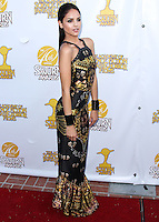 BURBANK, CA, USA - JUNE 26: Actress Eiza Gonzalez arrives at the 40th Annual Saturn Awards held at The Castaway on June 26, 2014 in Burbank, California, United States. (Photo by Xavier Collin/Celebrity Monitor)