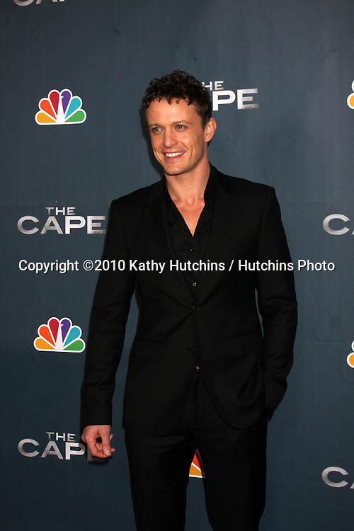 "LOS ANGELES - JAN 4:  David Lyons arrives at ""The Cape"" Premiere Party at Music Box Theater on January 4, 2011 in Los Angeles, CA."