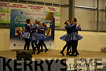 Set dancers on stage at the Fleadh Cheoil Chiarraí in Milltown on Friday.