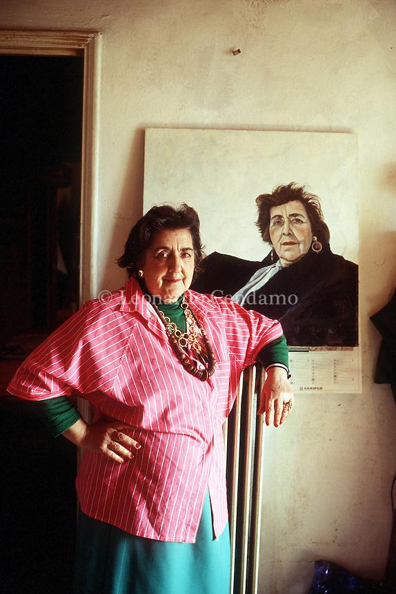 1996: ALDA MERINI, POET © Leonardo Cendamo
